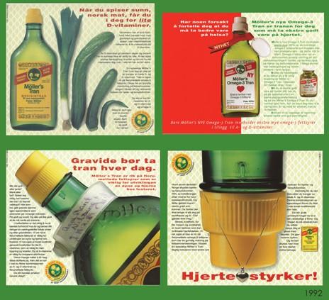 Διαφημίσεις του μουρουνέλαιου ως πηγή ω-3 και βιταμίνης D (1992)