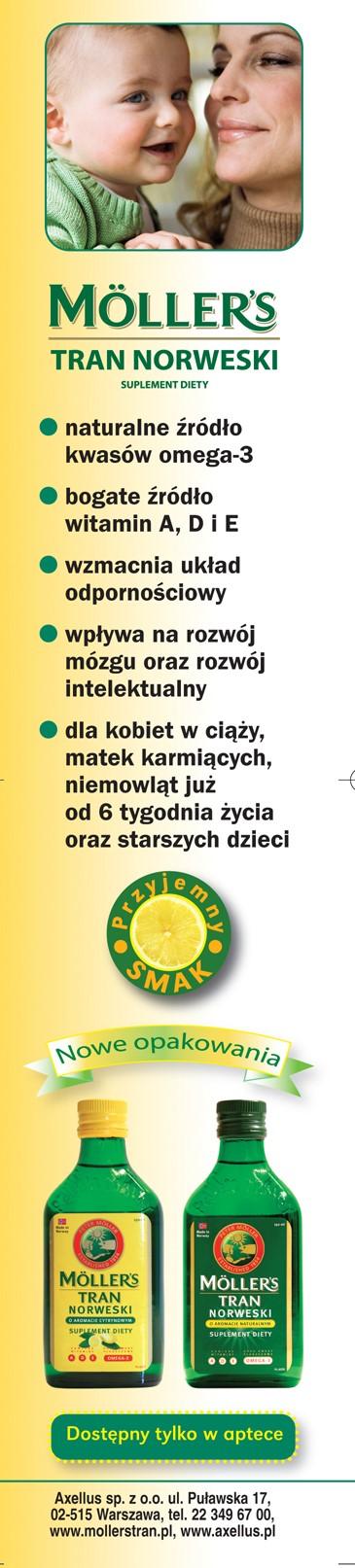 Μια από τις τελευταίες διαφημίσεις Möller's