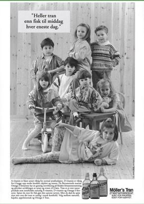 Το μουρουνέλαιο στη διατροφή των παιδιών (1991)